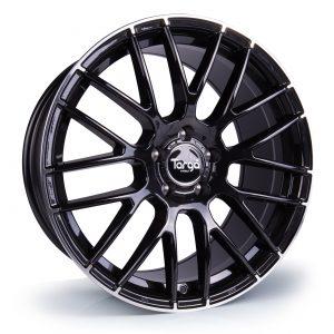 Targa TG2 Black Pol - 360 Wheels